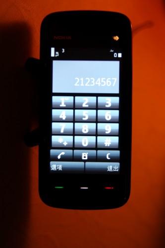 打電話介面數字鍵夠大,而且反應快,操控夠方便!