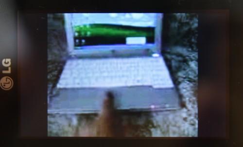 以 LG Renoir 配合 HSDPA 網絡欣賞 YouTube 短片,效果還算不俗。