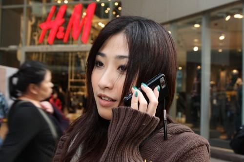 Leanne 使用 Omnia i908 通話實況。