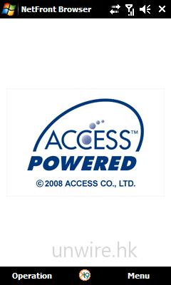 內建《Access》瀏覽器,但在香港不能使用。