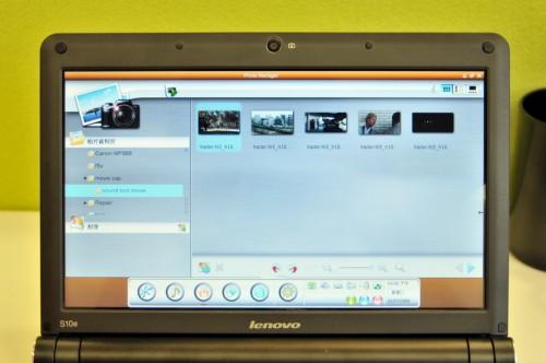 相片瀏覽介面與《ACDSee》有幾分相似,操控簡易。