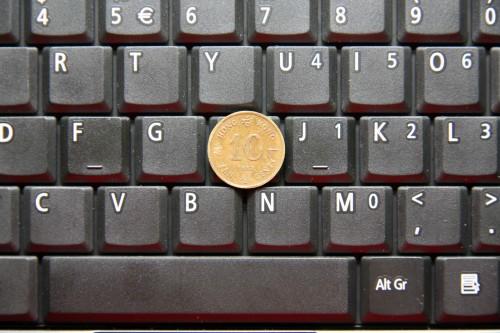 形象化一點:約為一個一毫硬幣般大小。