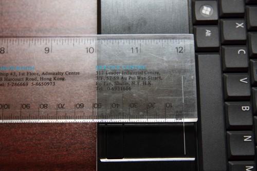 TouchPad 直向長度:33mm