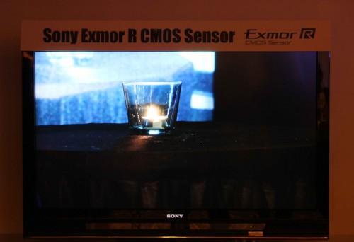 Sony XR520 攝錄效果