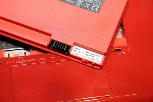 與 HP Mini 1000 一樣,同樣隨機附送 3-cell 鋰離子電池。