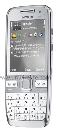 Nokia E55 白色版