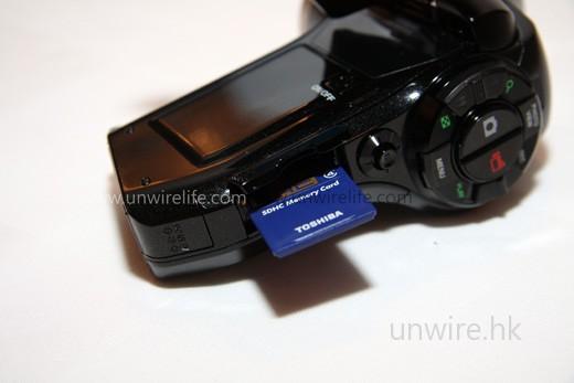 採用 SD/SDHC 記憶卡作儲存媒體,最高支援容量達 32GB!