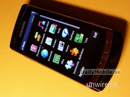 由於與 5800 XpressMusic 一樣採用 Symbian S60 v.5 作業系統,所以介面亦幾乎一樣。