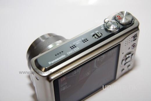 ZS3 在遠攝機款中算是輕薄,令用家外攜使用更輕易。