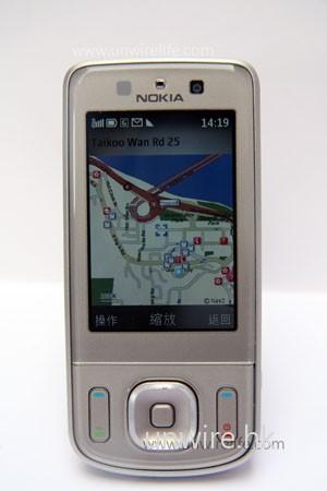 亦有附送 Nokia Map,無須用家另購地圖軟件。