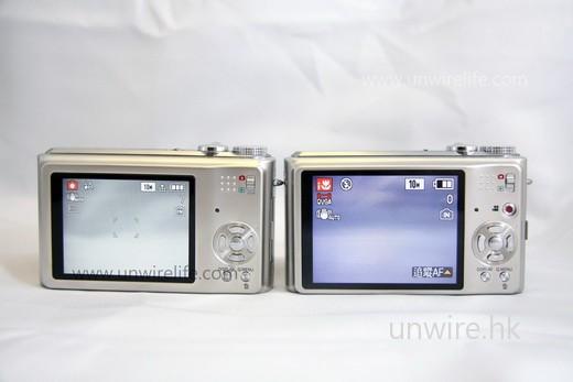 從機背看,可見 ZS1 的屏幕確比 ZS3 細。
