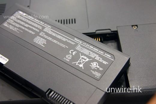 電池容量沒有改變,仍然是 4,200mAh。