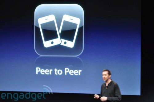 新功能:Peer to Peer