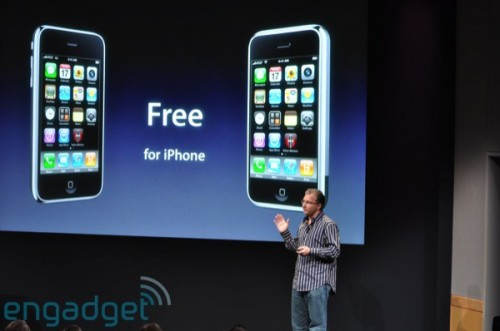 iPhone、iPhone 3G 用家:免費!YEAH!!!