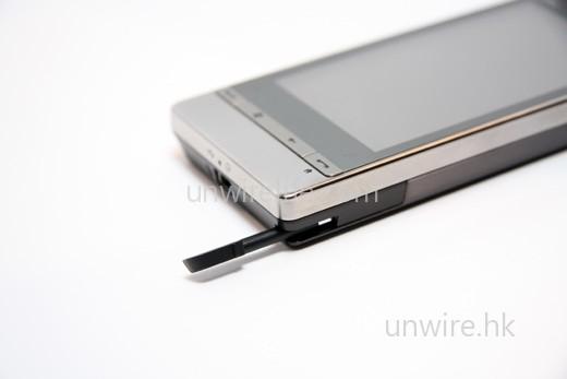 Diamond2 的觸控筆取消了第一代擁有的磁石吸附設計。