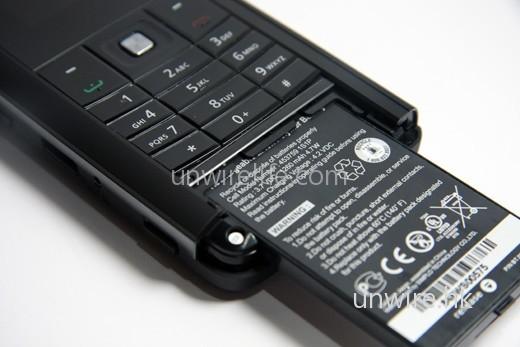 電池容量為 1,260mAh,以一部 2G 手機來說,使用時間應會頗長。