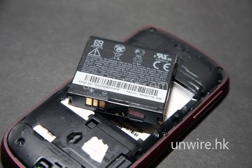 電池容量為 1,340mAh,應已足夠至少使用上一整天。