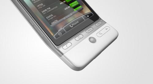 Android 手機的慣例:設有 Trackball 方便用家操控。