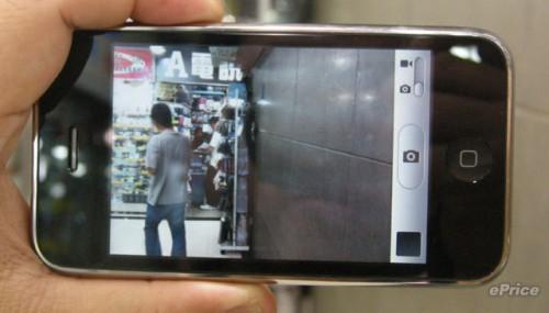 開啟拍攝功能,可見右下角設有相片、短片拍攝切換鍵,亦是新舊兩機的最大分別。