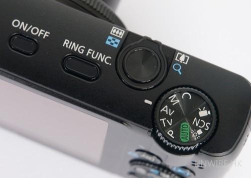 機頂的Ring Func.選項便是用作設定快速控制環的功能,備有5個選項。