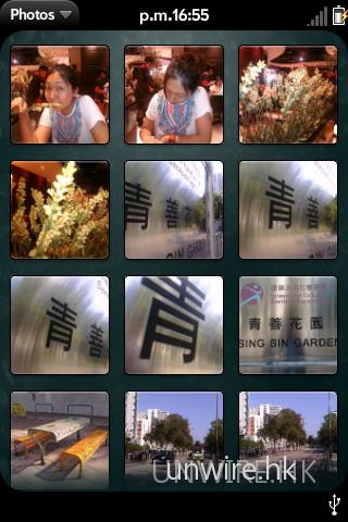 相片瀏覽介面與 iPhone 十分相似。
