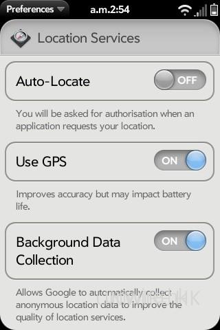 點選「Auto-Locate」,當使用 Google Map 時程式便會自動檢測用家所在位置,並在地圖上標示出來。
