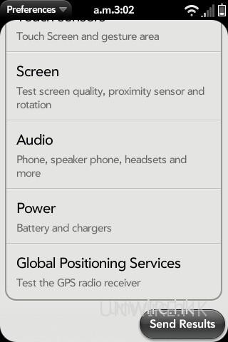 手動測試項目共有 6 項之多,分別是硬件按鍵、觸控屏幕及 gesture 區域、屏幕、音效、電源及 GPS 功能。