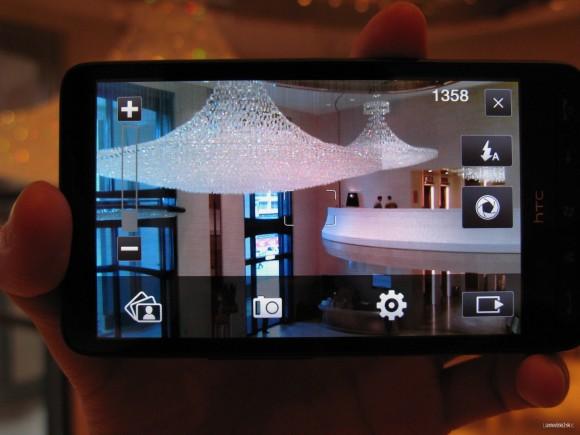 拍攝介面如舊,並支援觸控對焦功能。