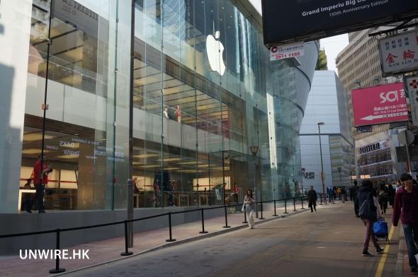 銅鑼灣 Apple Store
