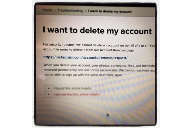 Instagram-quit