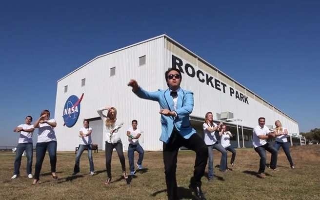 NASA-Johnson-Style-Gangnam-Style