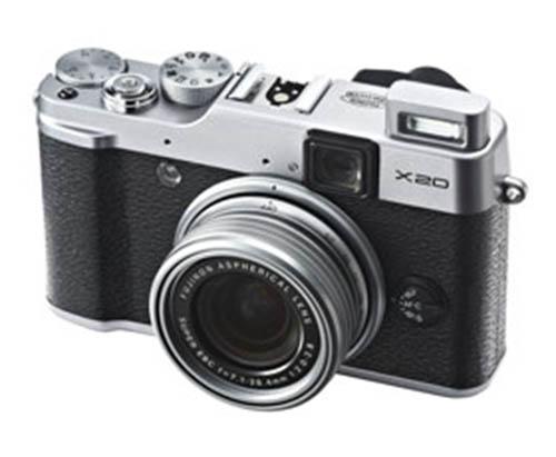 Fuji-X20-Silver-camera