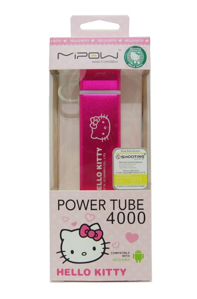 Hello Kitty Power Cube 4000S package