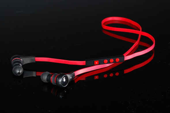 Blue-i noY X2 Bluetooth Earphone Red 02