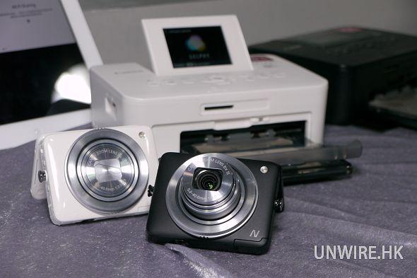 當然少不了可接通 Canon 自家的 wifi 相片打印機