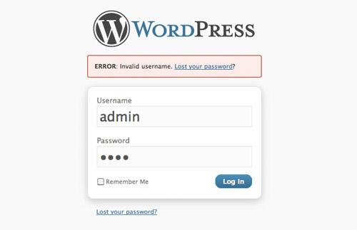 wpadmin-wrong-password