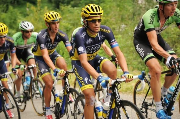 Contador 在賽事中段都好像挑戰不到 Froome 的地位,是否狀態依然不佳?