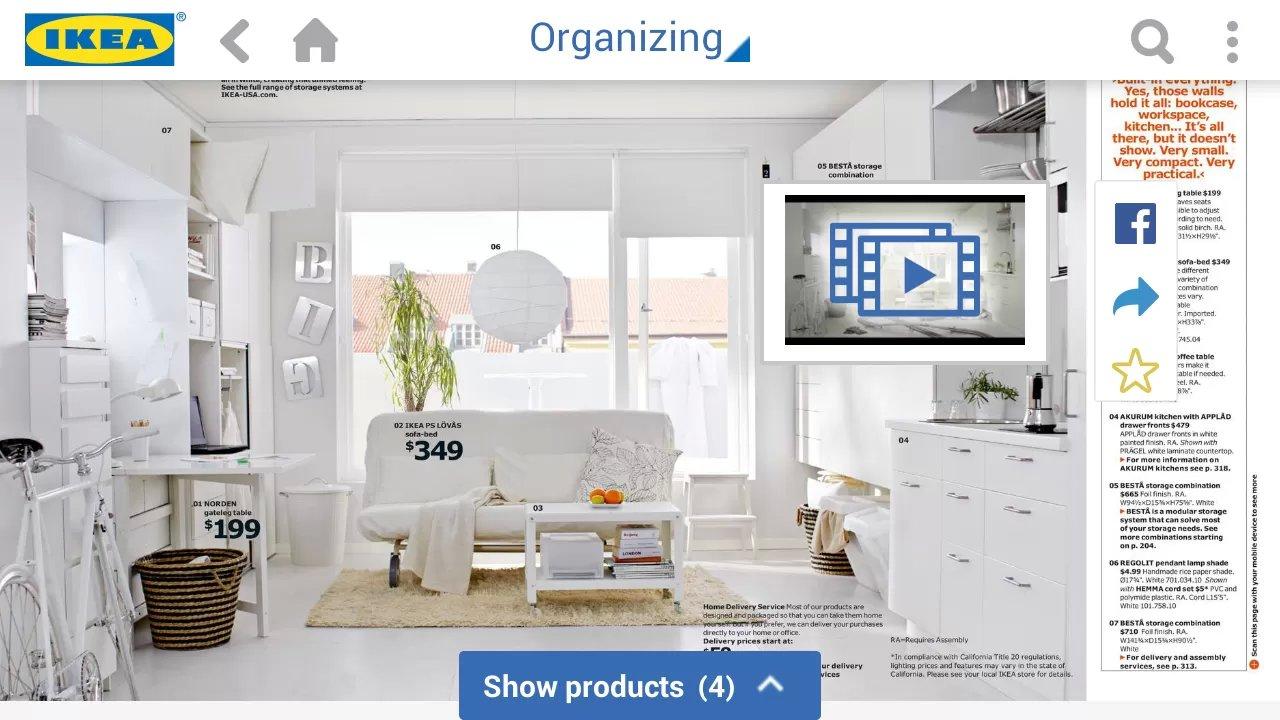 買傢俬前先度位.IKEA Catalog App 加入 AR 功能