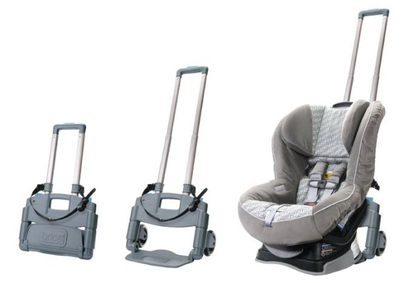 Brica Roll 'n Go Car Seat Transporter - Folding and Unfolding