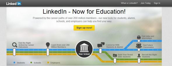 Higher Education Home - LinkedIn