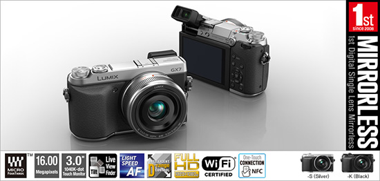 Panasonic-GX7-announced