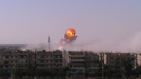 Syrian violence rips through Homs