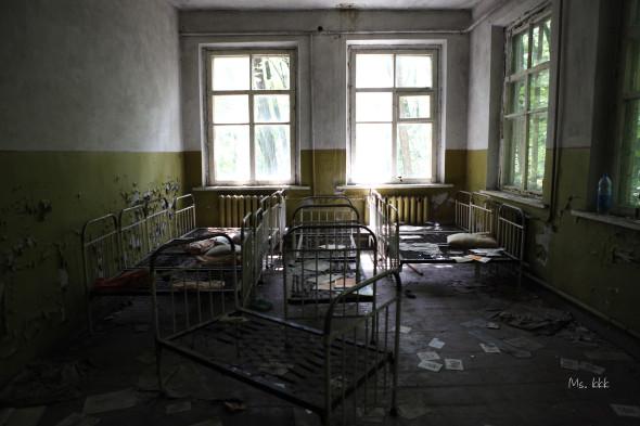 其中一間位於zone 3的廢棄幼兒園。