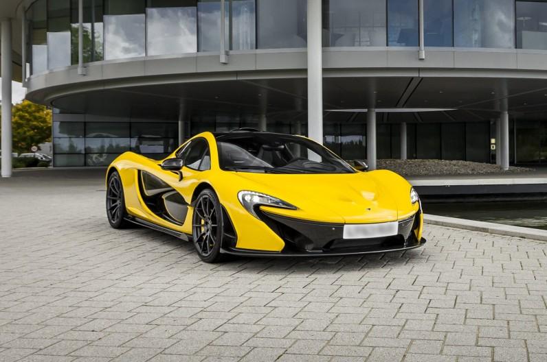 首部 McLaren P1 交付顧客 0-100km 只需 2.9 秒