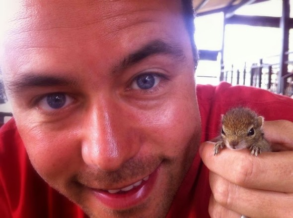 Baby Palm Squirrel Rescued By Wildlife Filmmaker