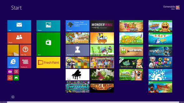 Windows 8 1 Personalized Start screen
