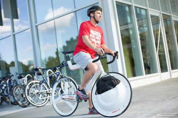概念 Transport Bike 單車都有行李箱
