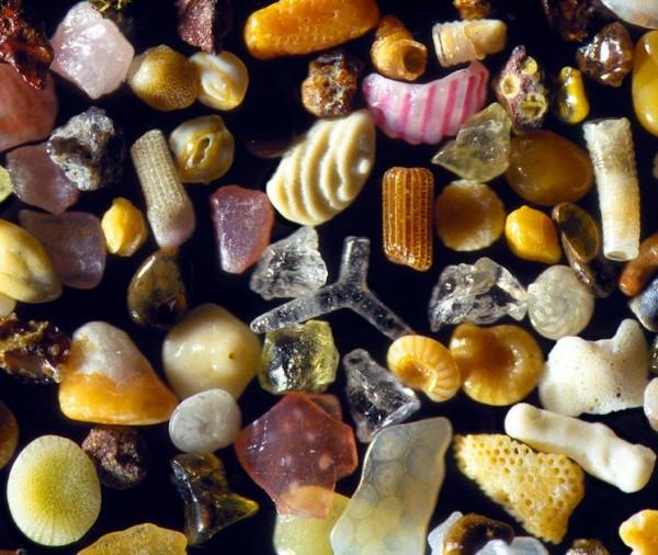 一沙一世界:輕微鏡下的沙子