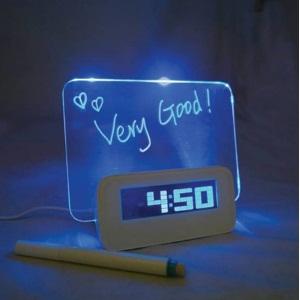 Scribble-Writing-Alarm-Clock