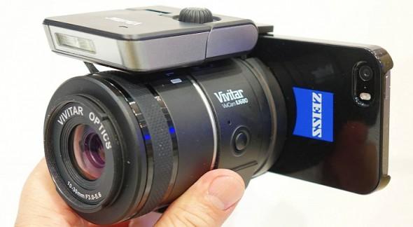 Vivitar-IU680-Interchangeable-Lens-Camera-for-Smartphones-Revealed-at-CES-2014
